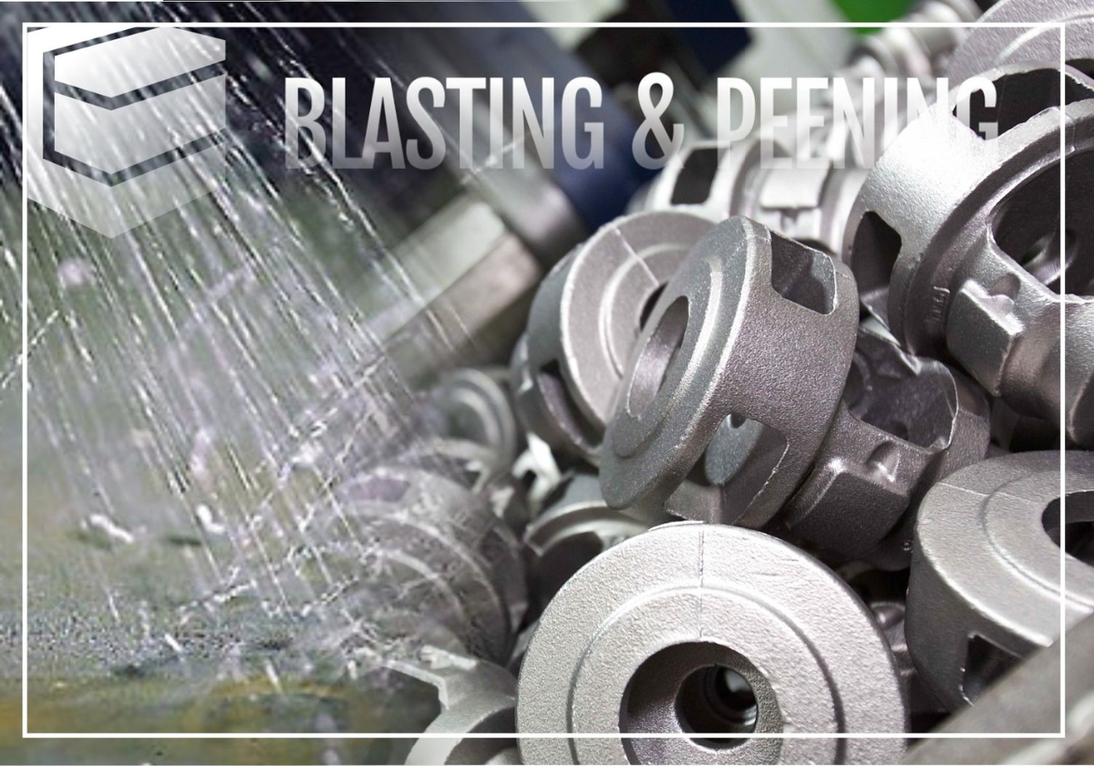 Shot blasting and peening photo