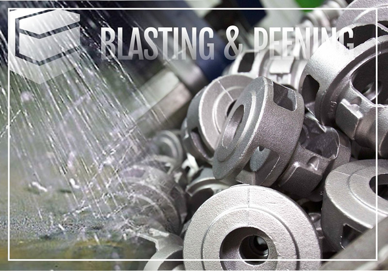 difference between shot blasting peening